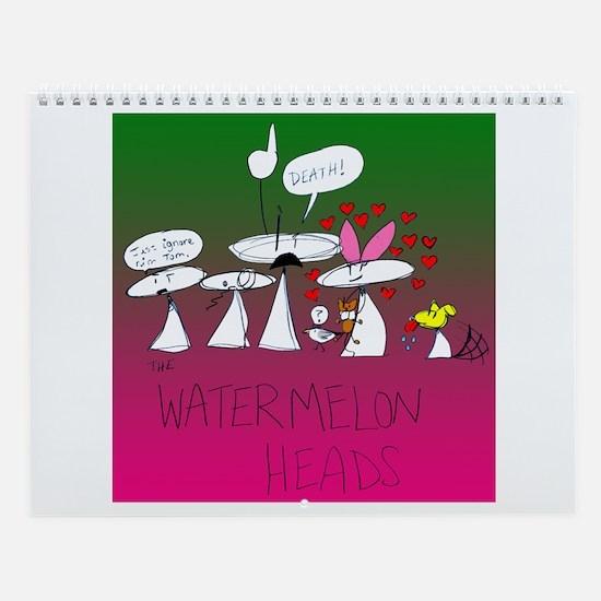 Watermelon Heads Wall Calendar