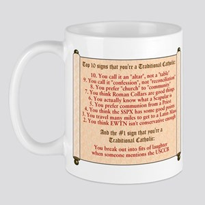 10 Reasons Traditionalist Mug