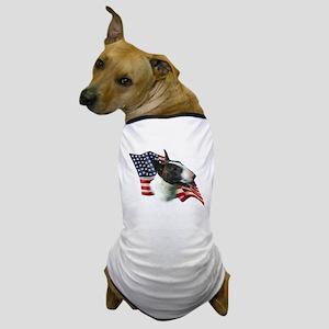 Bull Terrier Flag Dog T-Shirt