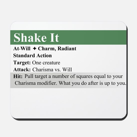 ShakeIt Mousepad
