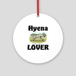 Hyena Lover Ornament (Round)