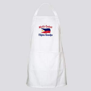 Coolest Filipino Grandpa BBQ Apron