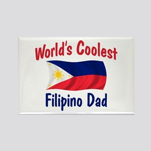 Coolest Filipino Dad Rectangle Magnet