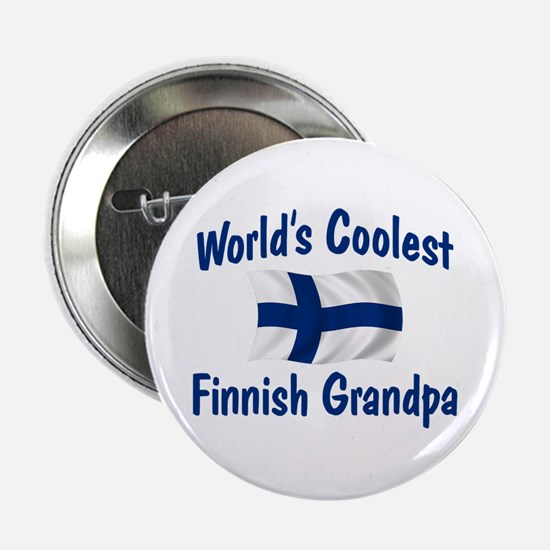 "Coolest Finnish Grandpa 2.25"" Button"