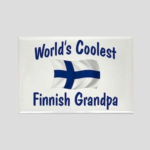 Coolest Finnish Grandpa Rectangle Magnet