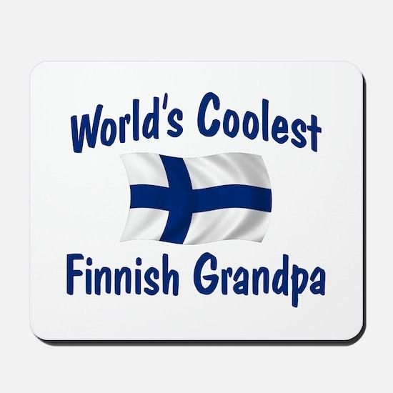 Coolest Finnish Grandpa Mousepad