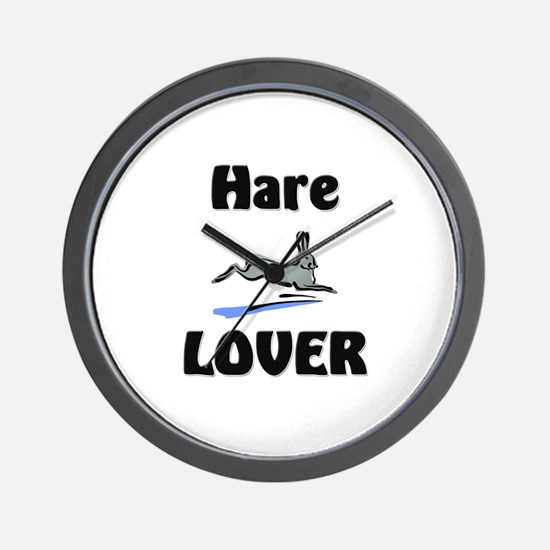 Hare Lover Wall Clock