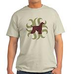 Afghan Hound Tribal Light T-Shirt