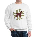 Afghan Hound Tribal Sweatshirt