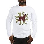 Afghan Hound Tribal Long Sleeve T-Shirt