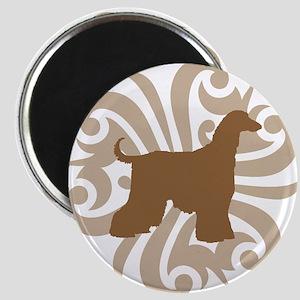 Tan & Brown Afghan Hound Magnet