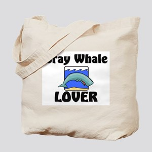 Gray Whale Lover Tote Bag