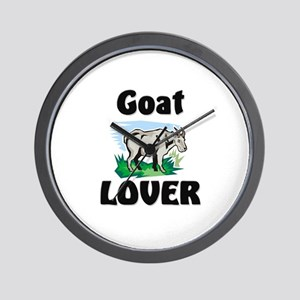 Goat Lover Wall Clock