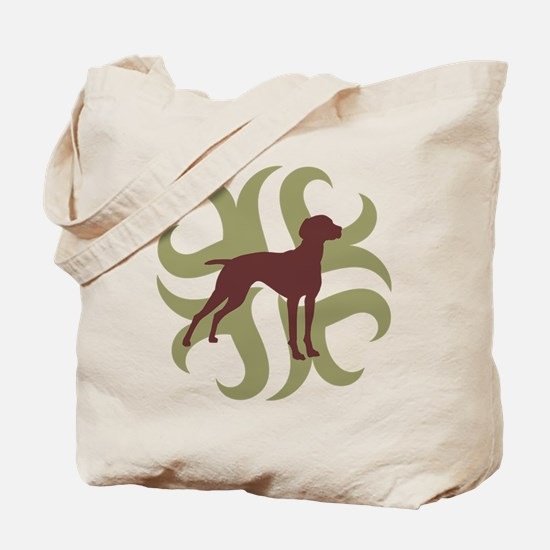 Vizsla Dog Tribal Tote Bag