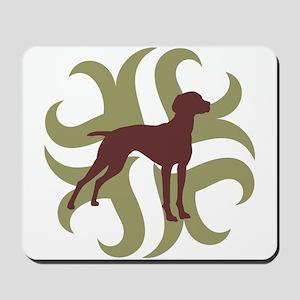 Vizsla Dog Tribal Mousepad