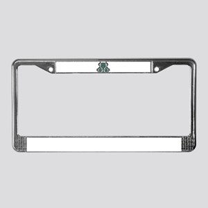 CELTIC7_TEAL License Plate Frame
