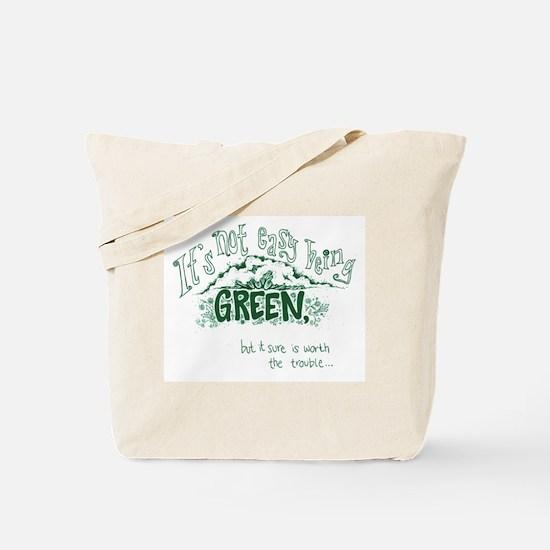Easy Green Tote Bag