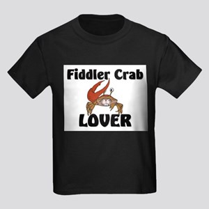 Fiddler Crab Lover Kids Dark T-Shirt