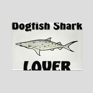 Dogfish Shark Lover Rectangle Magnet