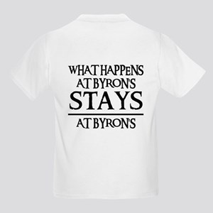 STAYS AT BYRON'S Kids Light T-Shirt
