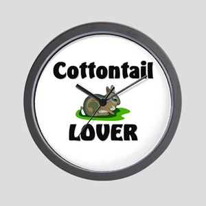 Cottontail Lover Wall Clock