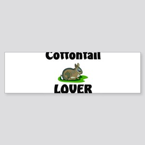 Cottontail Lover Bumper Sticker