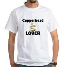 Copperhead Lover White T-Shirt