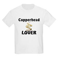 Copperhead Lover Kids Light T-Shirt