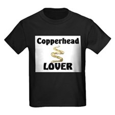 Copperhead Lover Kids Dark T-Shirt