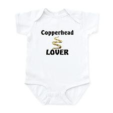 Copperhead Lover Infant Bodysuit