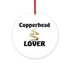 Copperhead Lover Ornament (Round)