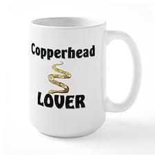 Copperhead Lover Large Mug