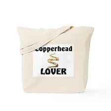Copperhead Lover Tote Bag