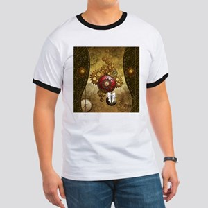 Steampunk, noble design, clocks and gears T-Shirt