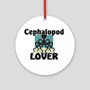 Cephalopod Lover Ornament (Round)