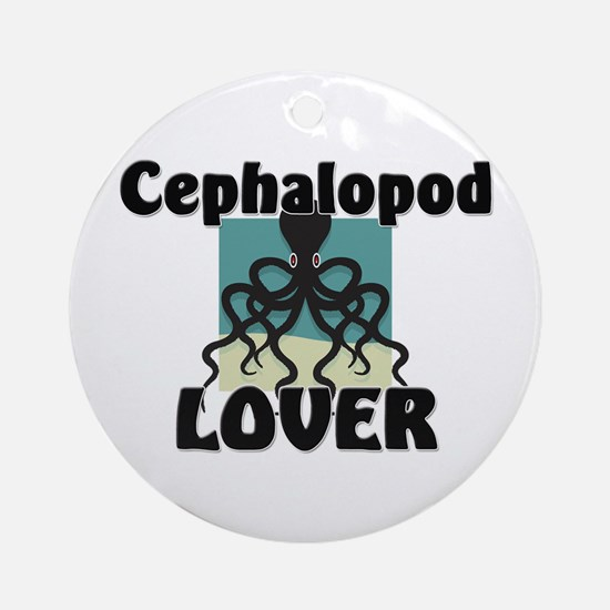 Cephalopod Lover Ornament (Round)