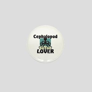 Cephalopod Lover Mini Button