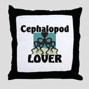 Cephalopod Lover Throw Pillow