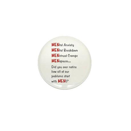 Men Problems - Mini Button