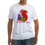 Bad Dragon NO MAIDEN! Fitted T-Shirt