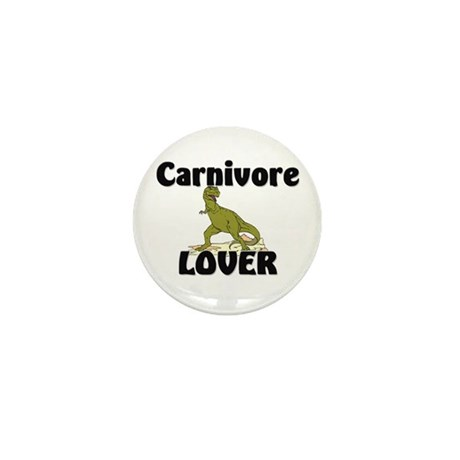 Carnivore Lover Mini Button (10 pack)