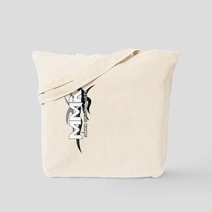 MMA Tribal Art Logo Sideway Tote Bag