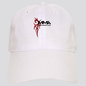 MMA Tribal Tattoo Logo Red Cap