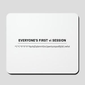 vi Session Mousepad