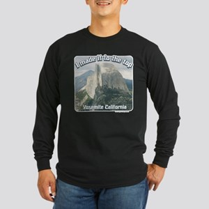 I made it Yosemite Long Sleeve Dark T-Shirt