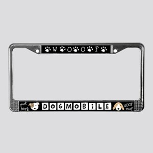 DOGMOBILE License Plate Frame