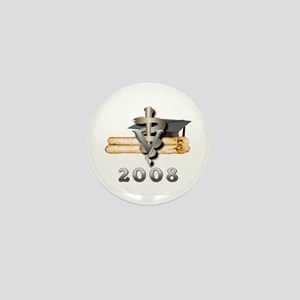 Vet Grad 2008 Mini Button