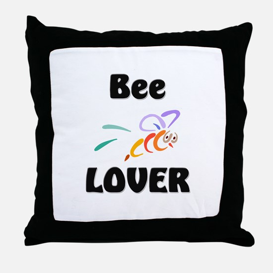 Bee Lover Throw Pillow
