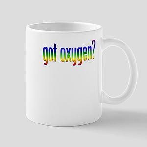 Got Oxygen Rainbow Mug