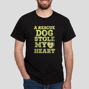 A Rescue Dog Stolen My Heart T Shirt T-Shirt